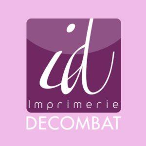 lien et logo de IMPRIMERIE DECOMBAT - Partenaire de l'Étonnant Festin