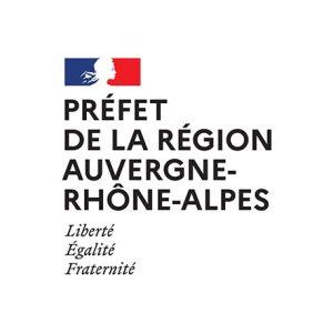 lien et logo de Drac Auvergne Rhone Alpes - Partenaire de l'Étonnant Festin